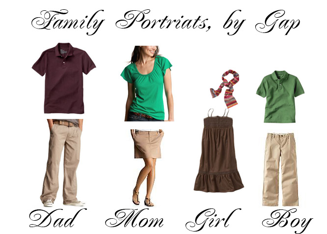 Family Portrait Session Clothing