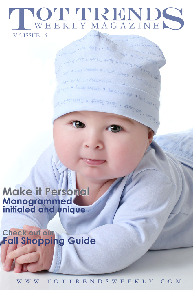 tot trends weeky,  tottrendsweekly,  magnolia baby,  make it personal,  holiday gifts, commercial work, magazine cover